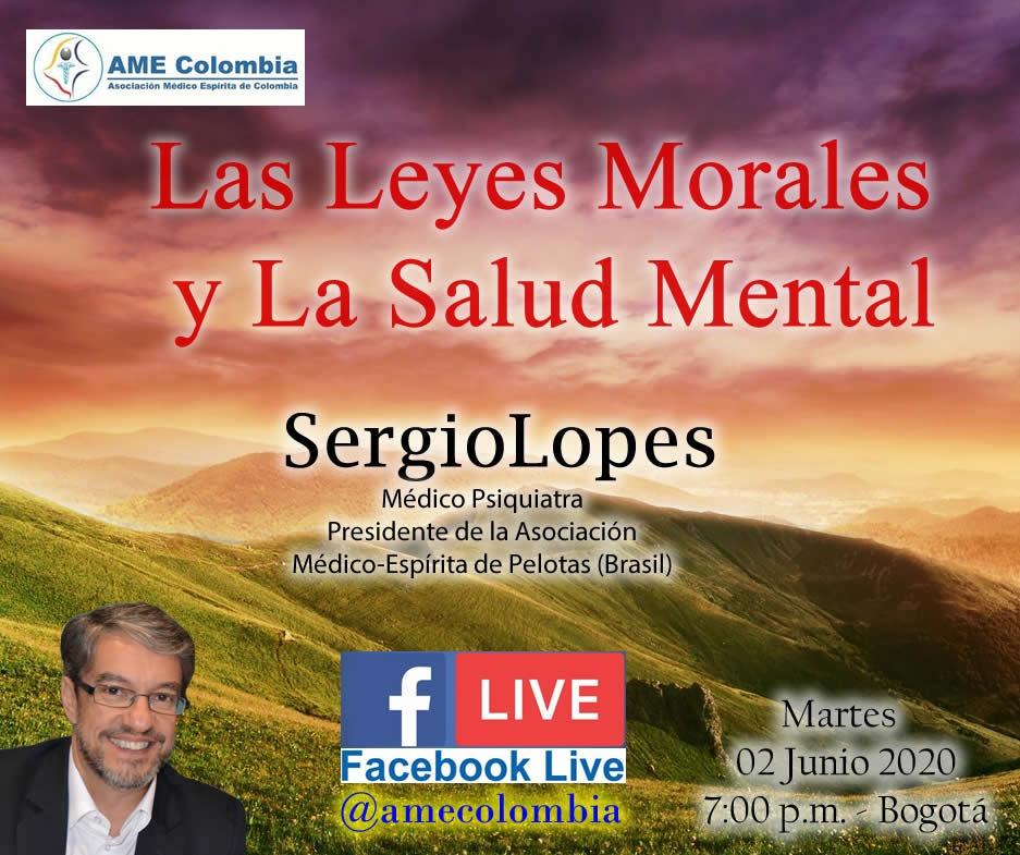 video de la conferencia Las Leyes Morales y la Salud Mental.