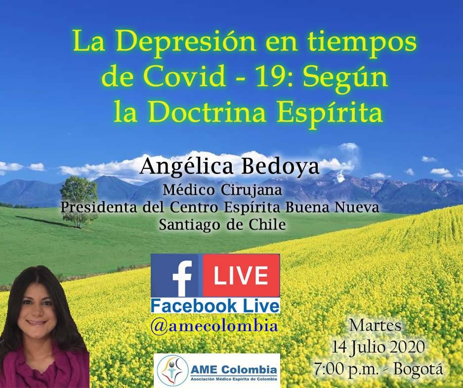 video de la conferencia La Depresión en tiempos de Covid-19: Según la Doctrina Espírita.