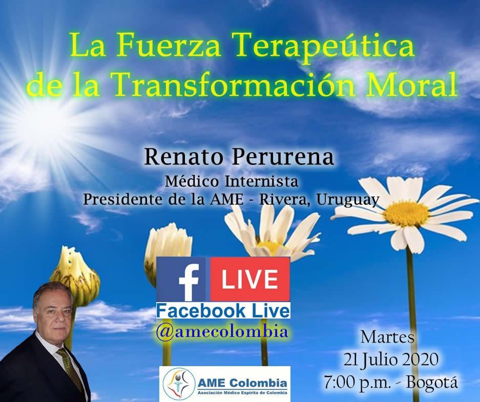 video de la conferencia La fuerza terapéutica de la transformación moral.