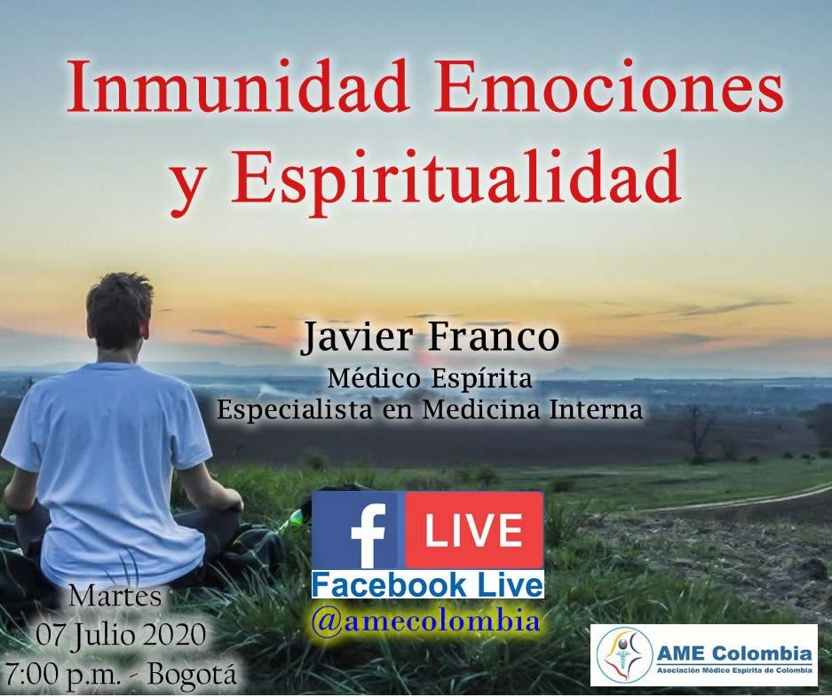 video de la conferencia Inmunidad, Emociones y Espiritualidad.