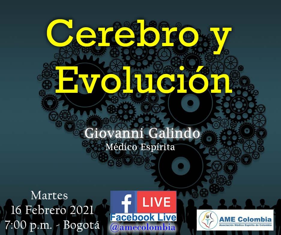 video de la conferencia Cerebro y evolución., con Giovanni Galindo Febrero 16_2021