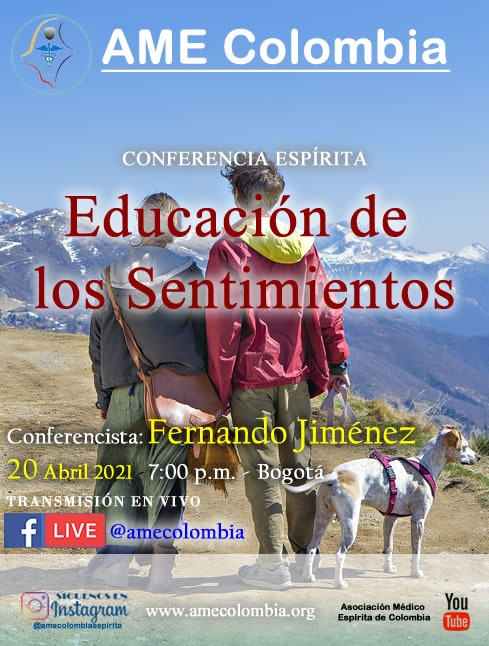 video de la conferencia Educación de los sentimientos. por Fernando Jiménez. Abril 20_2021