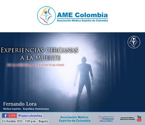 video de la conferencia Experiencias cercanas a la muerte. Octubre12_2021