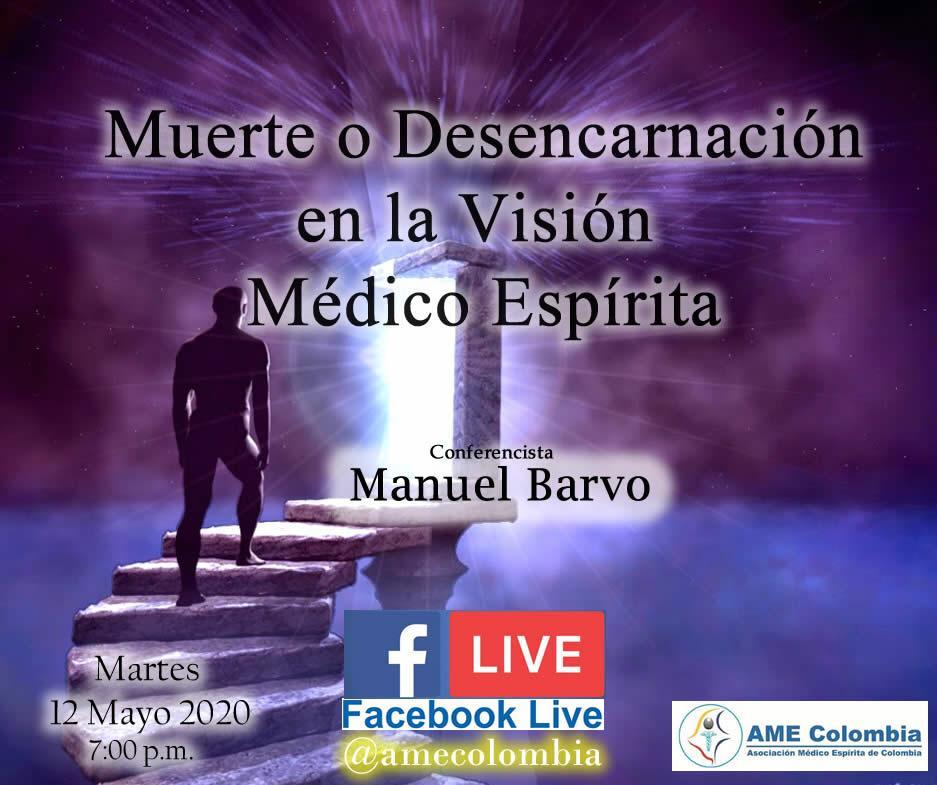 video de la conferencia Muerte o desencarnación en la visión Espírita.