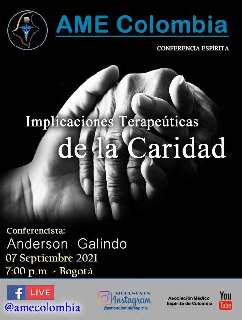 video de la conferencia Implicaciones Terapéuticas de la Caridad. Septiembre7_2021