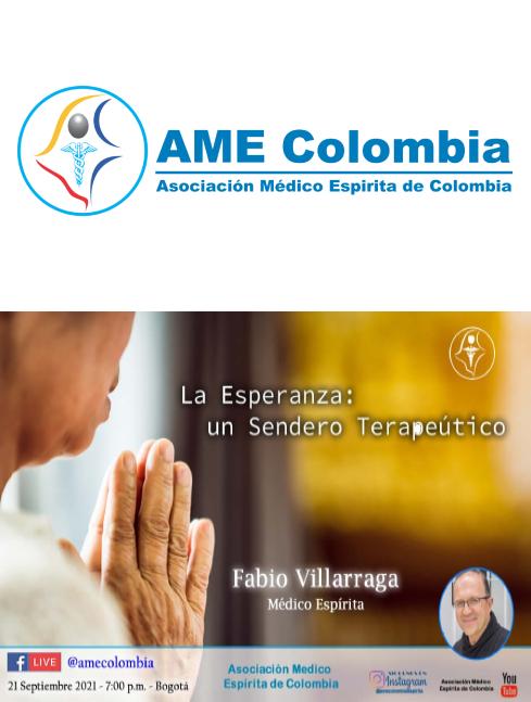 video de la conferencia La Esperanza: un Sendero Terapéutico. Septiembre21_2021