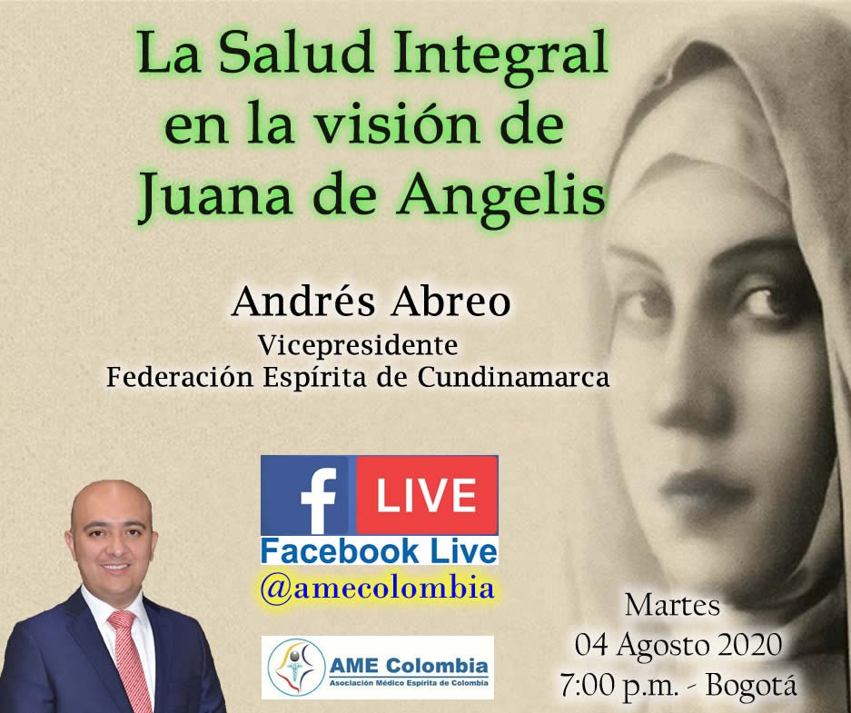 video de la conferencia La Salud Integral en la visión de Juana de Angelis